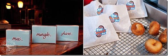 Thursday Therapy Dallas, Dallas Wedding Planner, Dallas Wedding Locations, The Snack Box, Mini Donut Favors