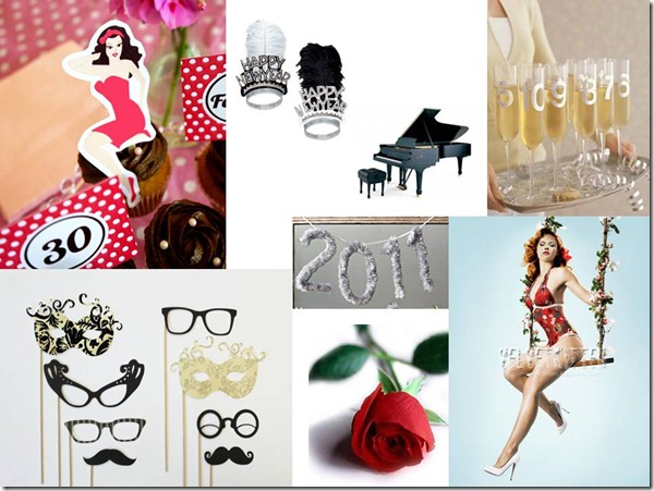 New Years Eve Party, Dallas Event Planner, Pin Up The New Year