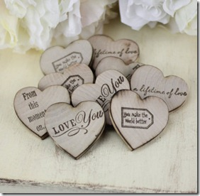 Dallas Wedding Planner, Rustic Magnets, Fun Favor Ideas