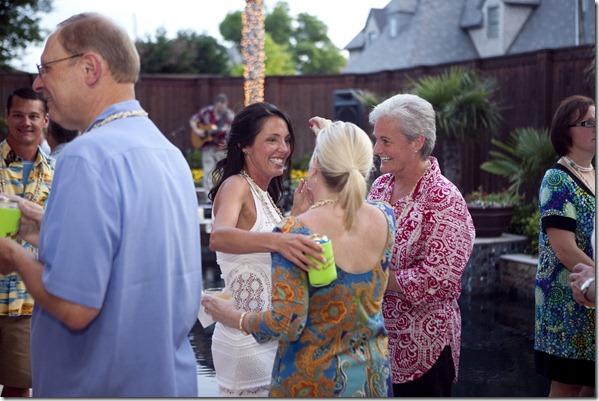Dallas Wedding Reception, Dallas Event Planner, Dallas Party Planner, Hawaiian Themed Party