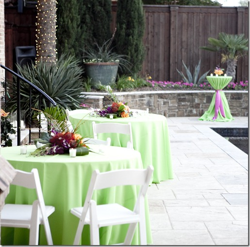 Dallas Party Planner, Sweet Pea Events, Dallas Event Planner, Hawaiian Themed Reception