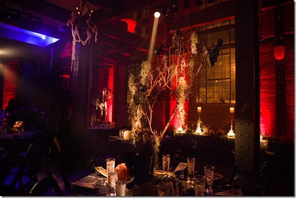 Halloween Wedding, Dallas Reception, Dallas Wedding Planner, Halloween Decor
