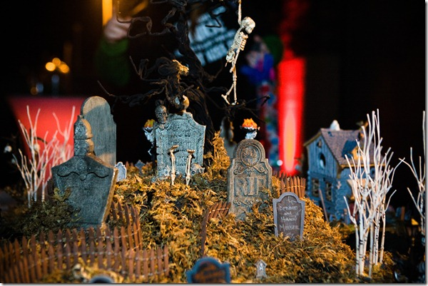 Haunted Cemetery, Dallas Wedding Planner, Dallas Wedding, Halloween Wedding