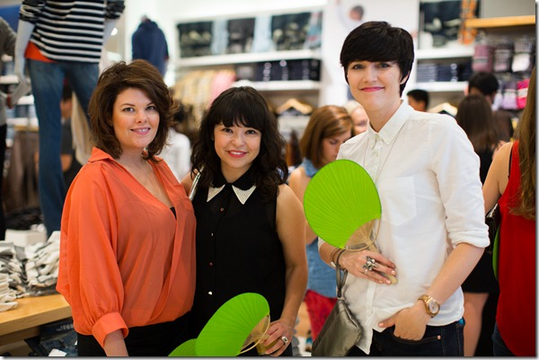 Rue Magazine, Gap, Green and Gold Party, Dallas Party Planner