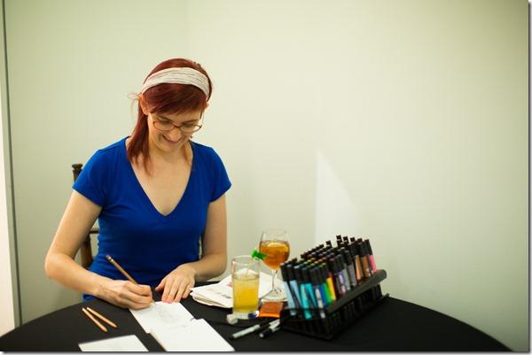 Posta Bella, Live Sketch Artist, Dallas Event Planner, Dallas Event