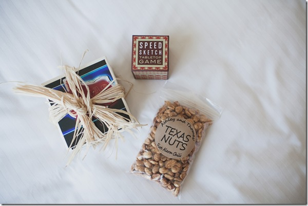 Welcome Bag Ideas, Texas Wedding, Fort Worth Wedding