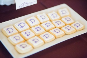 cookies, wedding, logo cookies, treats, desserts