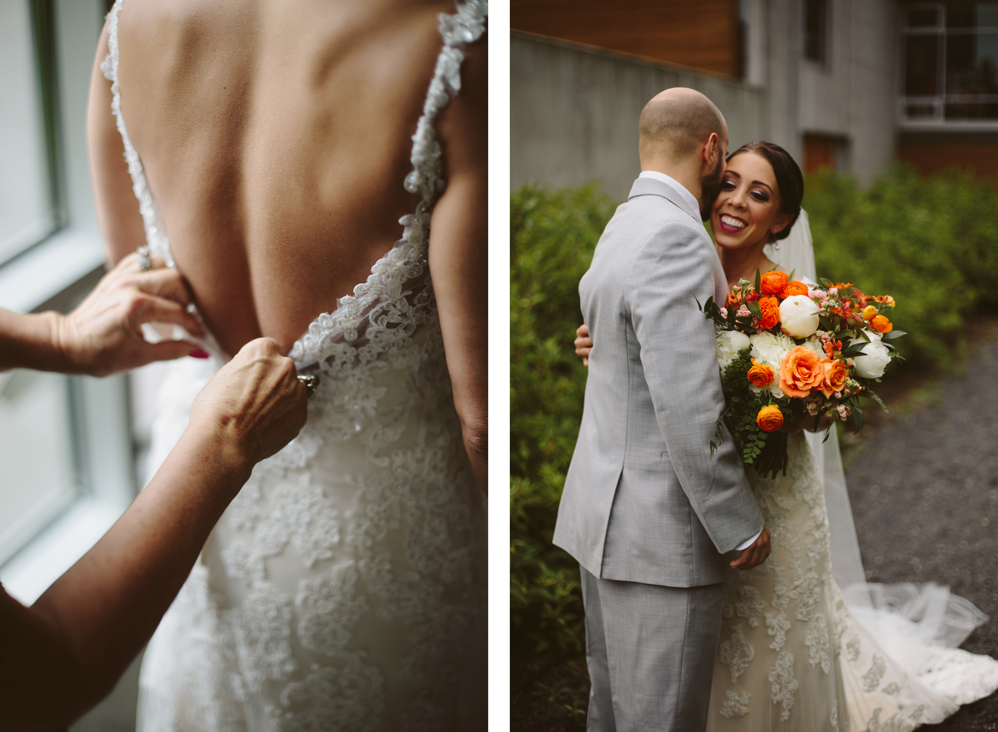 First look with Sweet Pea Events