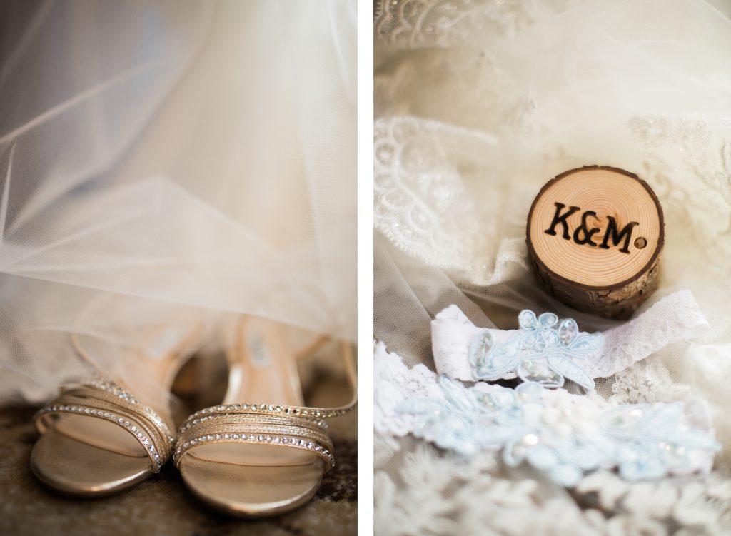 Bridal details Seattle wedding