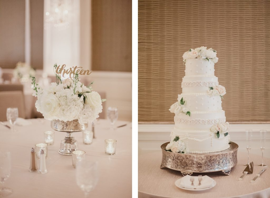 Reception Details by Dallas wedding planner