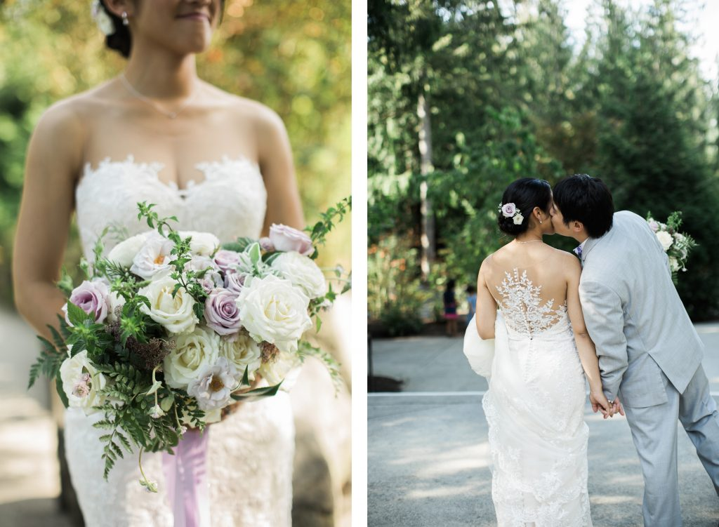 Washington wedding at Salish Lodge