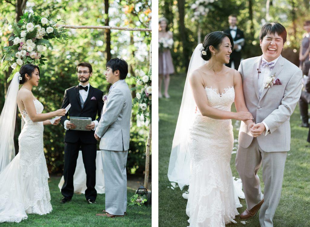 Seattle wedding ceremony