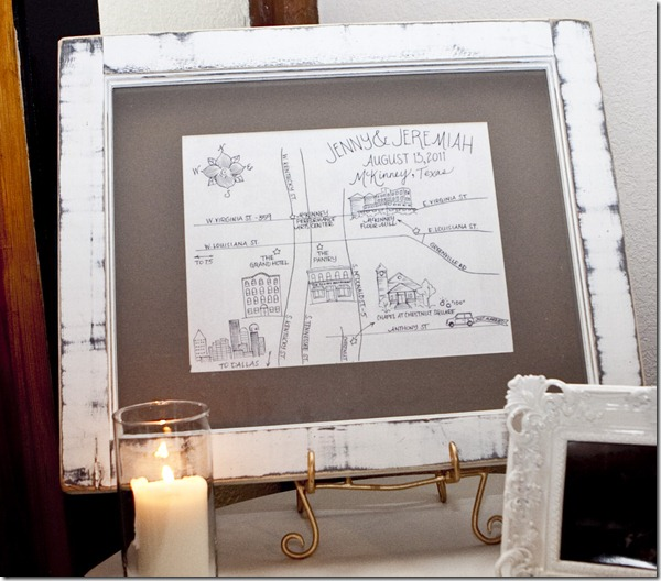 Wedding Maps, Vintage Wedding, Dallas Wedding Planner