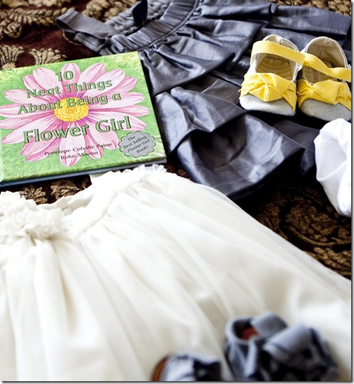 Baby Flower Girl, Yellow and Gray Wedding, Dallas Wedding Planner