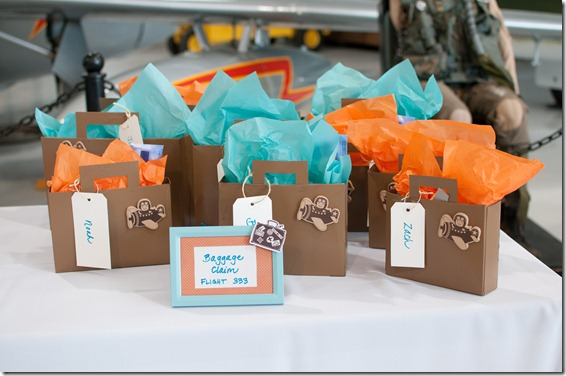 Airplane Party Favors, Dallas Party Planner, Dallas Event Planner, Airplane Themed Birthday Party, Sweet Pea Events