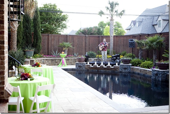 Dallas Event Planner, Dallas Party Planner, Sweet Pea Events, Hawaiian Themed Reception