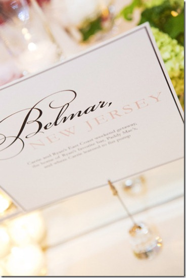Wedding Table Names, Table Assignment Ideas, Texas Wedding Planner, Fort Worth Wedding