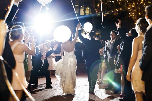 Balloon Send Off Fort Worth Wedding Texas Dallas Planner Sweet