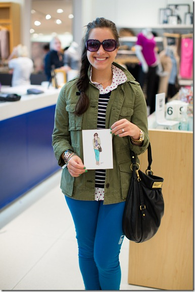 Gap, Posta Bella, Live Sketch Artist, Dallas Event Planner