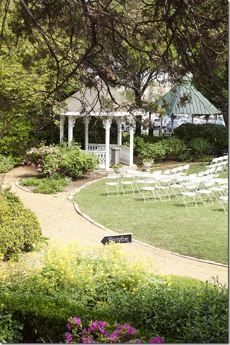 Outdoor McKinney Ceremony, Dallas Wedding Planner, McKinney Wedding