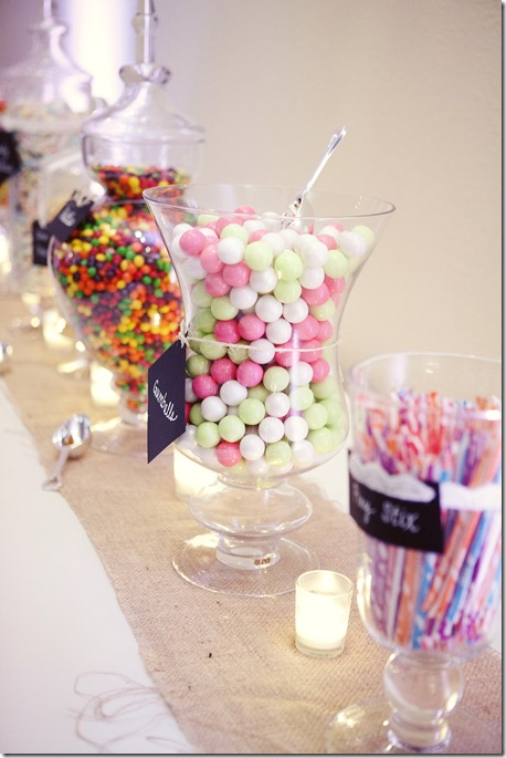Candy Bar Wedding, McKinney Wedding, Dallas Wedding