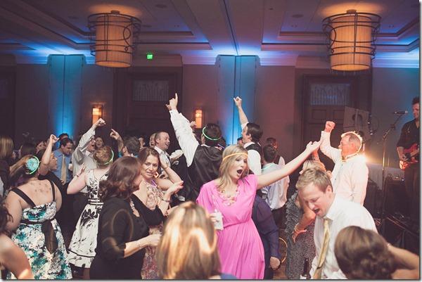 Fort Worth Wedding, Time Machine Band, Omni Fort Worth