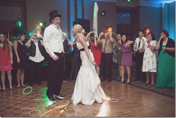 Fort Worth Wedding, Omni Fort Worth, Time Machine Band