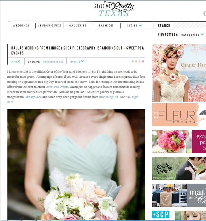 Wedding Planner Dallas: Meagan + Garrett's Dallas Wedding On Style Me Pretty