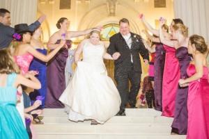 bride, groom, farewell, wedding, party