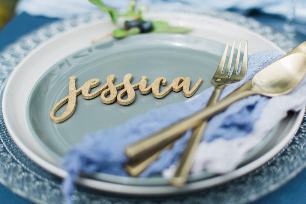 Seattle Wedding Planner place setting