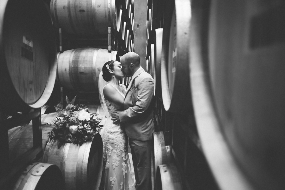 Winery wedding by Seattle Wedding Planner