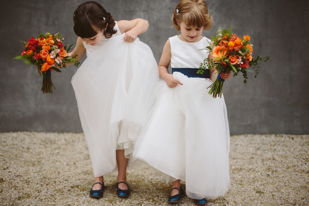 Flower girls at Sweet Pea Events, a Seattle Wedding Planner