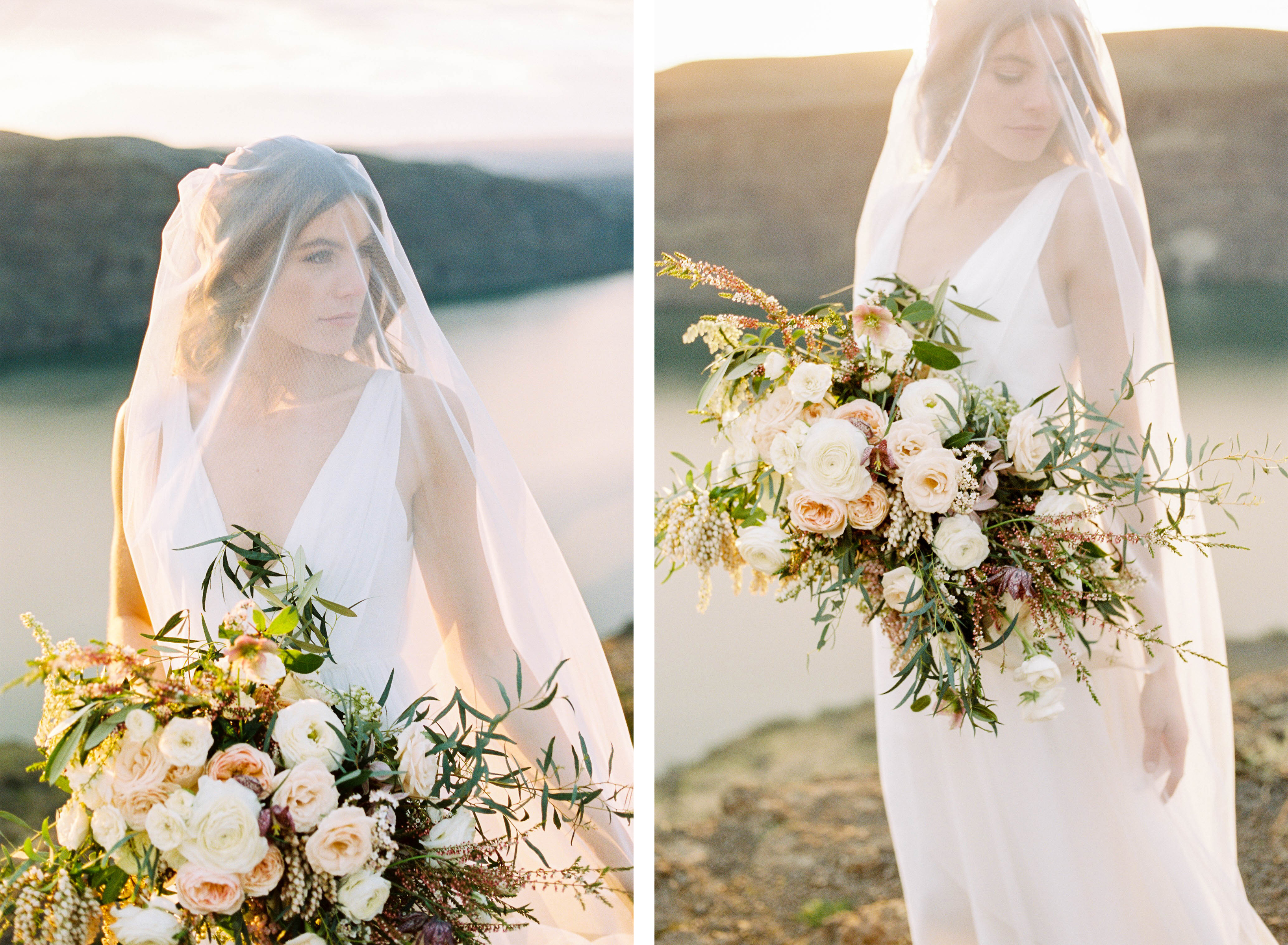 Elopement inspiration bridal bouquet