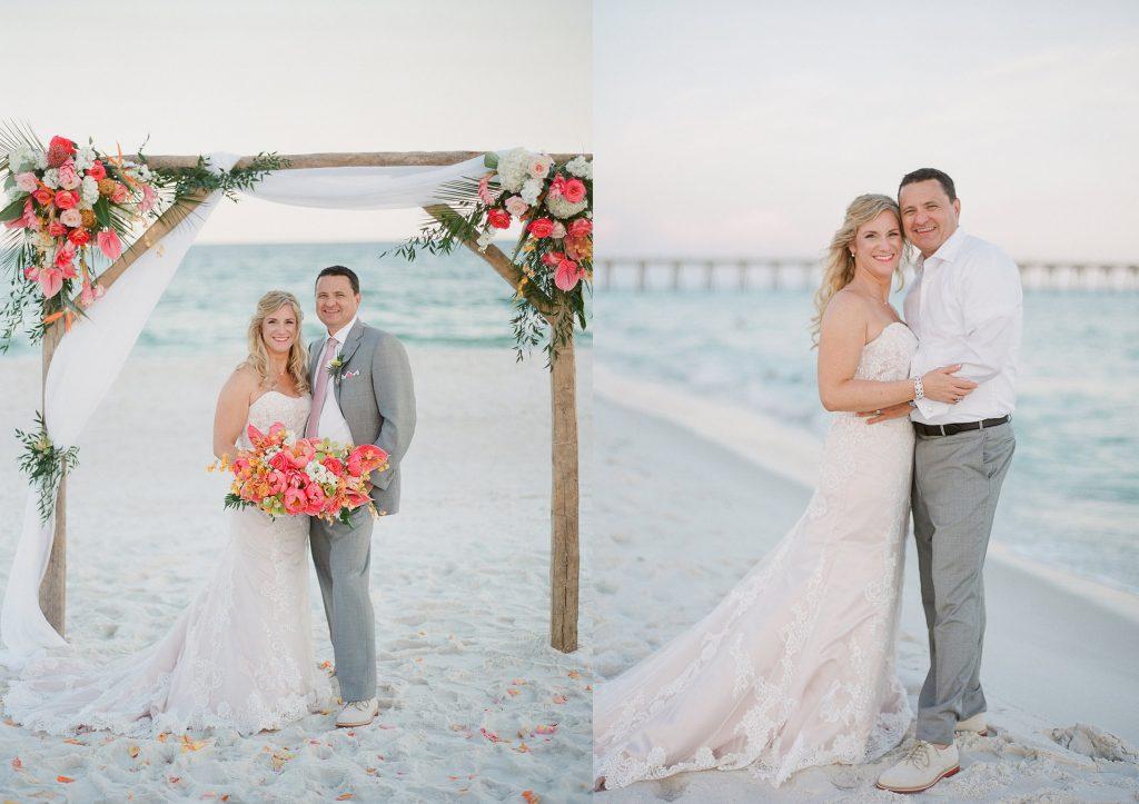 Destination Wedding in Pensacola Beach Florida