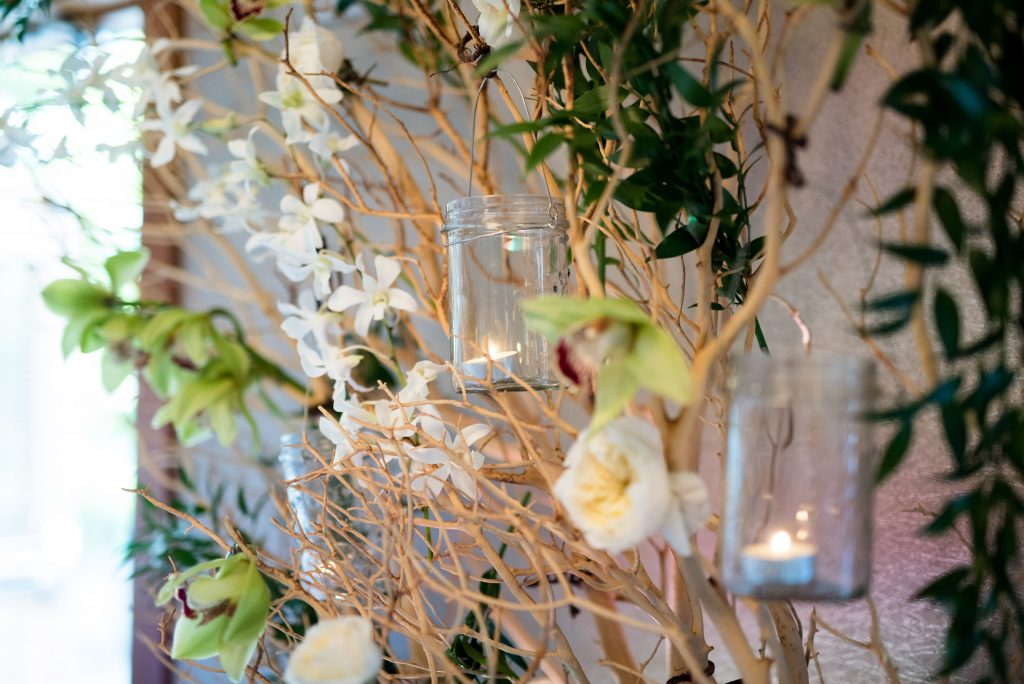 Reception tree decor