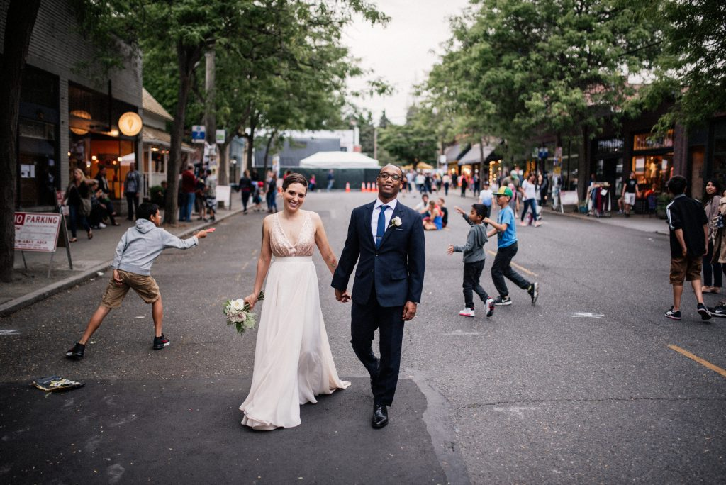 Ballard wedding in Seattle
