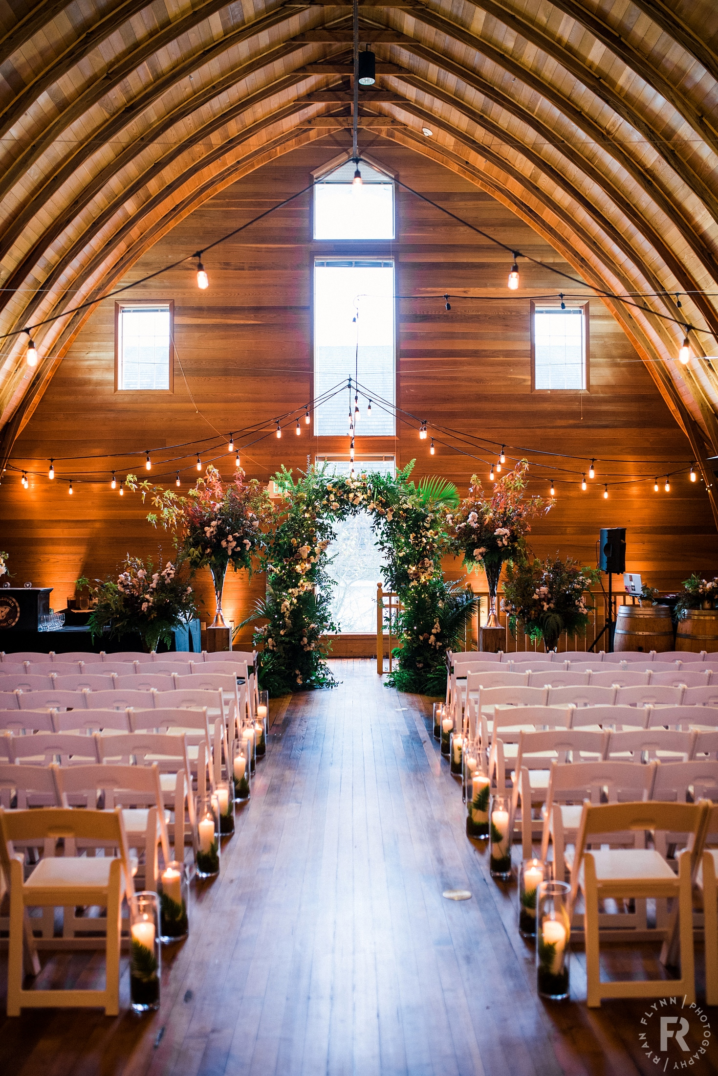 The Loft Is Perfect For A Rustic Wedding Without Doing Full On Barn All Wood Inside Can Be Easily Dressed Up To Many Diffe Styles